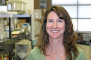 Kerry Ringer, assistant professor of food science and extension enologist. Photo by Brian Charles Clark