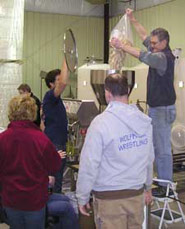 Students in WSU's professional certificate program in enology get hands-on experience with industry mentors.