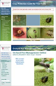 Two new Web sites provide new versions of venerable tools for tree fruit growers.