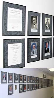 Hall of Honored Alumni and Friends