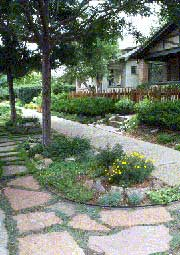 Xeriscaping conserves water without sacrificing aesthetics.
