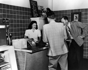 Ferdinand's, the retail outlet of Washington State University's Creamery, opened in Troy Hall on Sept. 24, 1948.