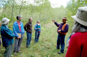 WSU Extension Forestry Extension Educator Andy Perleberg discuses red alder stand development.