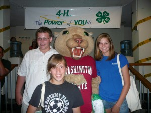 Butch and Teens at 2009 WSU Teen Conference