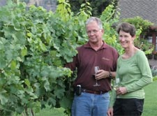 Laura Mrachek and husband Mike are co-owners of Saint Laurent Estate Winery. Laura Mrachek is the honorary chair for the Women in Wine Collection.