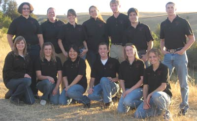 The Student Swin Co-op, Fall 2010. Front row, from left: Caitlin Quessenberry, Chelssi Lee, Gina Lo, Nick Larson, Bailey Dezllem, Jackie Koster; back from, from left: Kanika Haley, JEnny Neuburgerm Taya Brown, Corrine Harris, Chris Wesen, Erik Walker, JOrdan Profitt