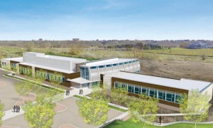The Wine Science Center at WSU will be housed in a 39,900 square-foot LEED-certified facility at the WSU Tri-Cities campus. Rendering by Lydig Construction/ALSC Architects.