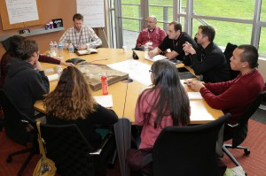 Industry professionals and WSU students collaborate at 2013 design charrette for the Eggert Family Organic Farm.