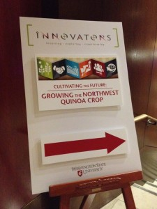 The WSU Innovator's Luncheon was held in Seattle, Wash. (Photo by Sylvia Kantor).