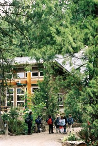 """Focusing on ecological sensitivity, landscape architect and WSU alumnus Tom Berger designed the LEED Gold-winning IslandWood education center on Bainbridge Island. Berger's works are the focus of the first """"Building Legacies"""" gallery show and reception at WSU."""