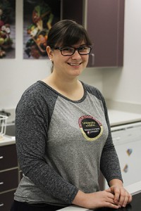 "Jessica Murray, a first year grad student in the WSU/UI School of Food Science, won first place in an international product development competition for her quinoa-infused dessert, ""Brazilian Delight."""