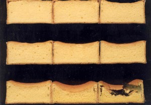 Too much alpha-amylase affects how bread products, such as these sponge cakes,  rise and taste