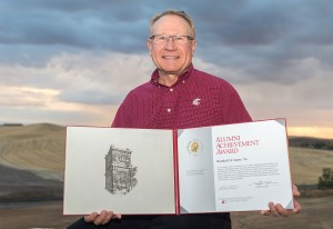Photo of Randy Suess by Dean Hare, WSU Photo Services.