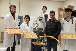WSU students and research display healthier puffs at their university lab.