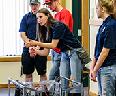 Teens take part in 4-H Robotics, part of a Kettle Falls club.