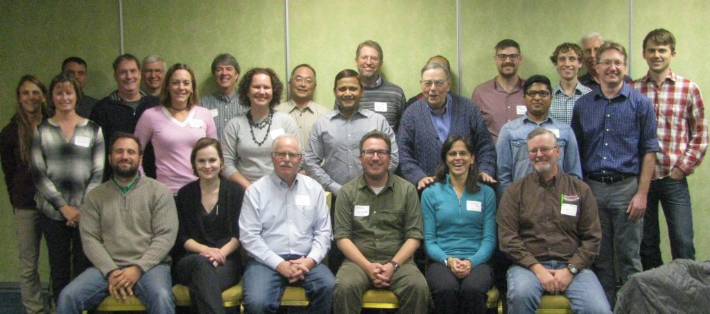 (Alt text: Group photo of the W-2008 team)