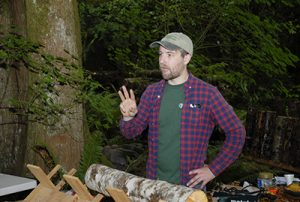 Shults, gesturing at an in-forest event.